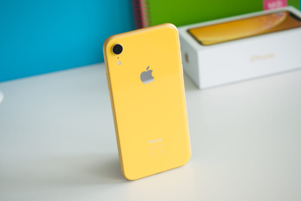Apple iPhone XR Jaune Les iPhone XR reconditionnés sont disponibles à la vente aux États Unis