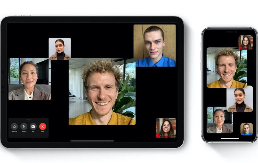 Groupe FaceTime Zoom iOS 13.6 apporte la prise en charge de FaceTime aux Émirats arabes unis