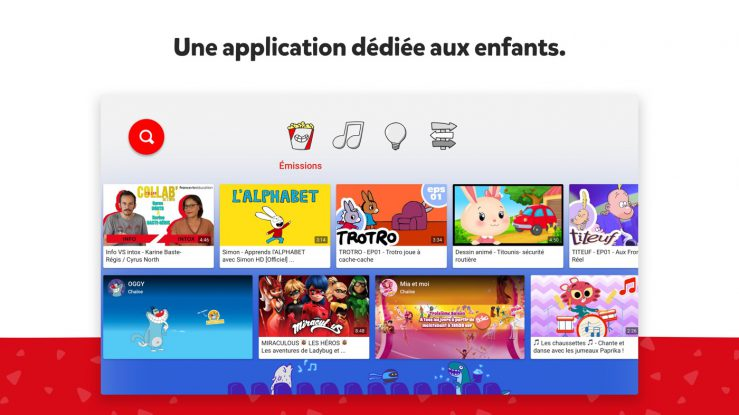 YouTube Kids Application Apple TV Lapplication YouTube Kids de YouTube est désormais disponible sur lApple TV