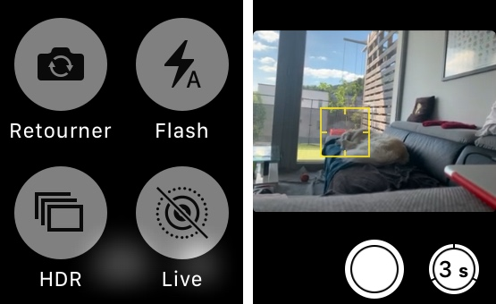 apple watch apn options Comment contrôler l'appareil photo de son iPhone avec son Apple Watch pour prendre des photos