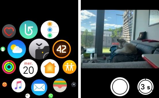 apple watch apn Comment contrôler l'appareil photo de son iPhone avec son Apple Watch pour prendre des photos