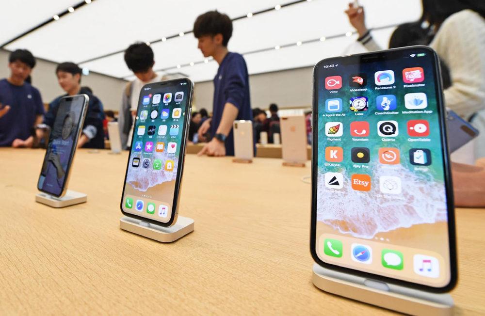 iPhone X Chine Chine : les ventes diPhone subissent une montée de 160% en un mois