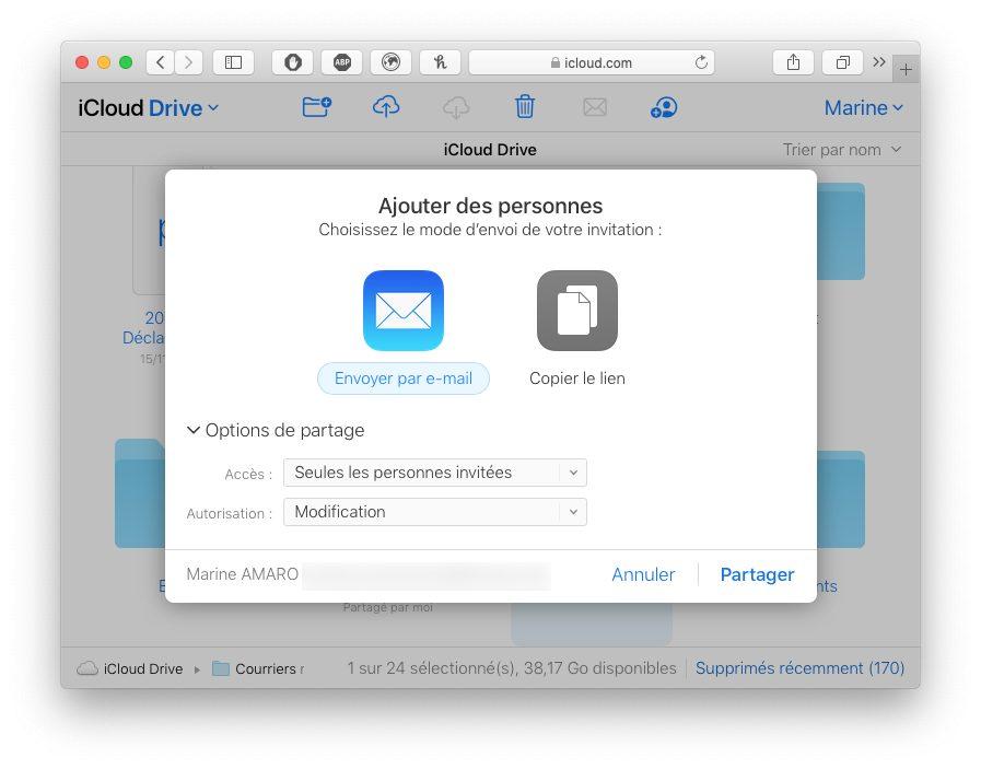 icloud com ajouter personnes Comment utiliser le partage de dossier iCloud avec votre iPhone, Mac, Windows