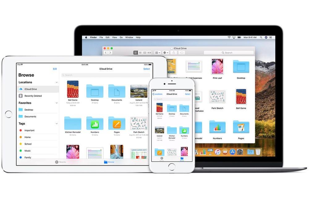 iphone ipad mac icloud Comment utiliser le partage de dossier iCloud avec votre iPhone, Mac, Windows