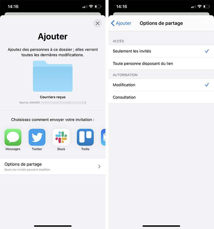 iphone partage dossier icloud ajout personnes Comment utiliser le partage de dossier iCloud avec votre iPhone, Mac, Windows