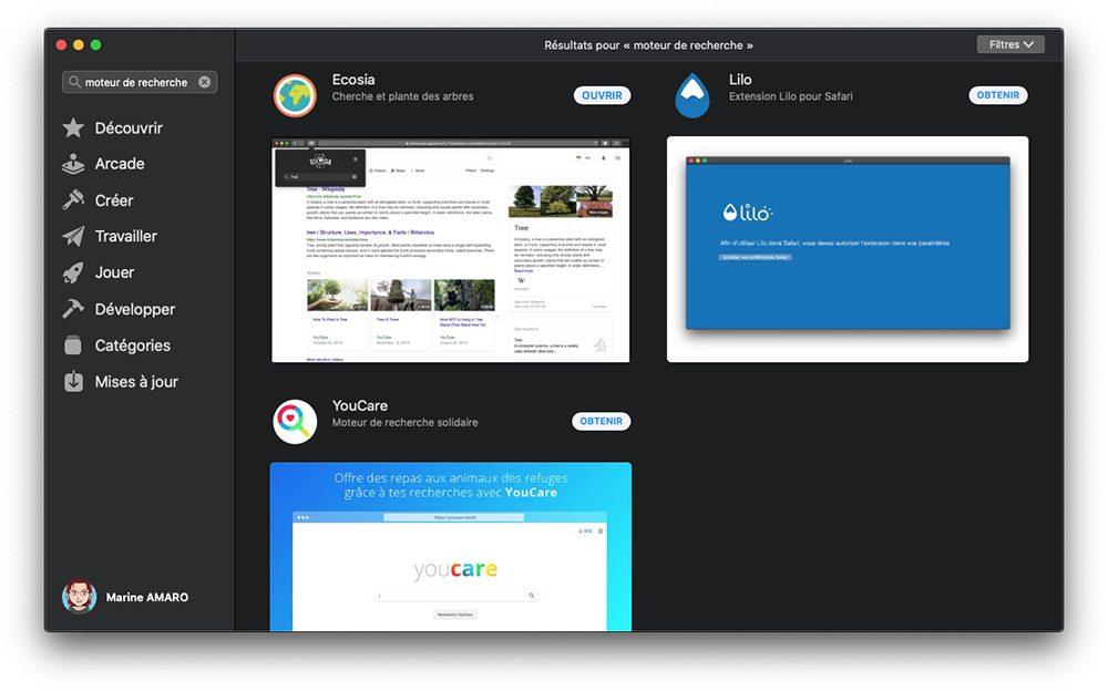 mac extensions app store moteur recherche Safari : comment changer le moteur de recherche Google par défaut sur iPhone et Mac