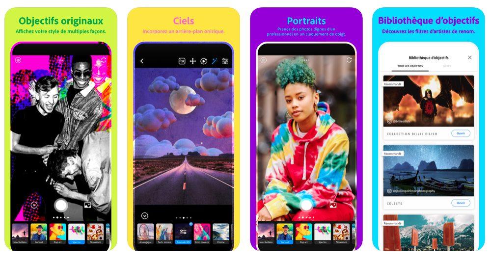 Adobe Photoshop Camera 1 Photoshop Camera : la nouvelle app de retouche photo de Adobe pour iPhone