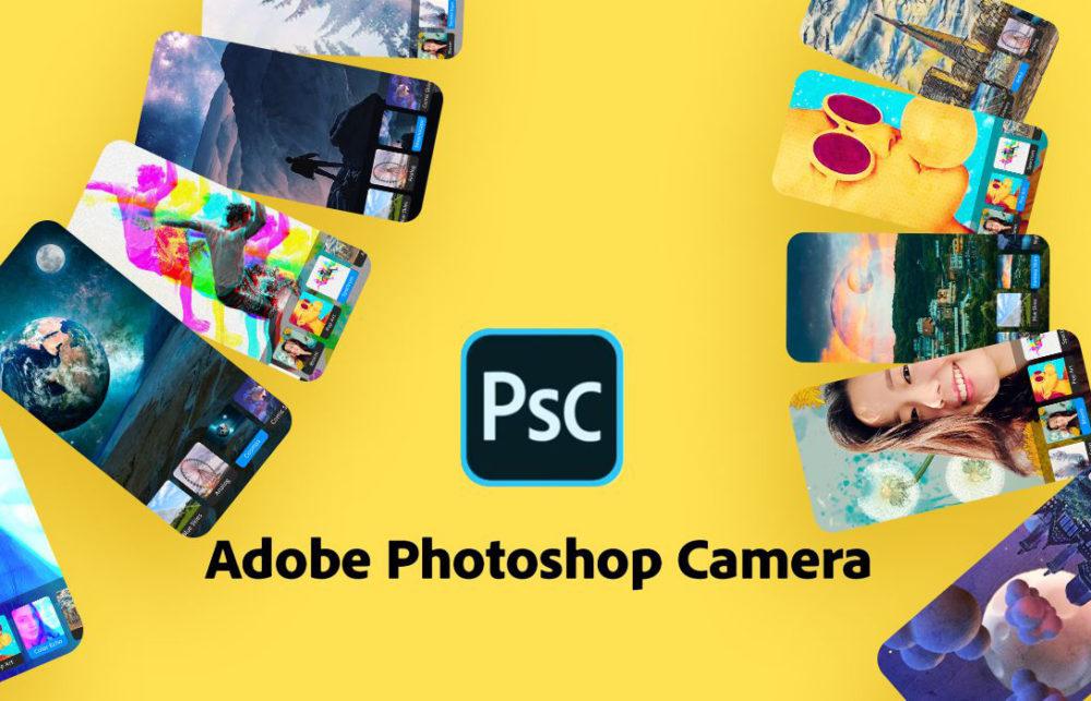 Adobe Photoshop Camera Photoshop Camera : la nouvelle app de retouche photo de Adobe pour iPhone