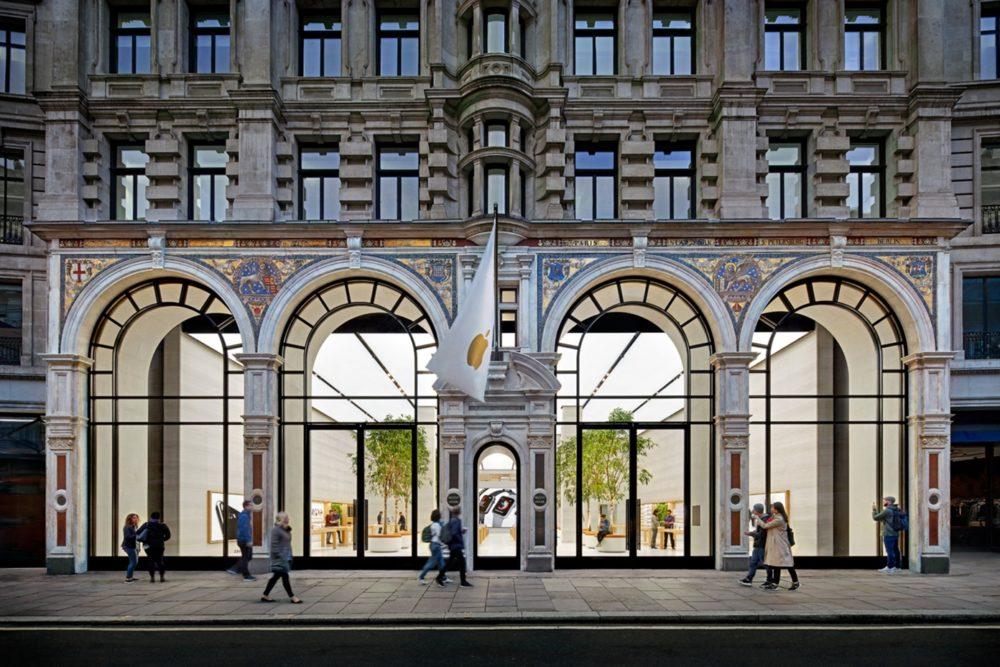 Apple Store Angleterre Apple rouvre les portes de ses Apple Store en Angleterre