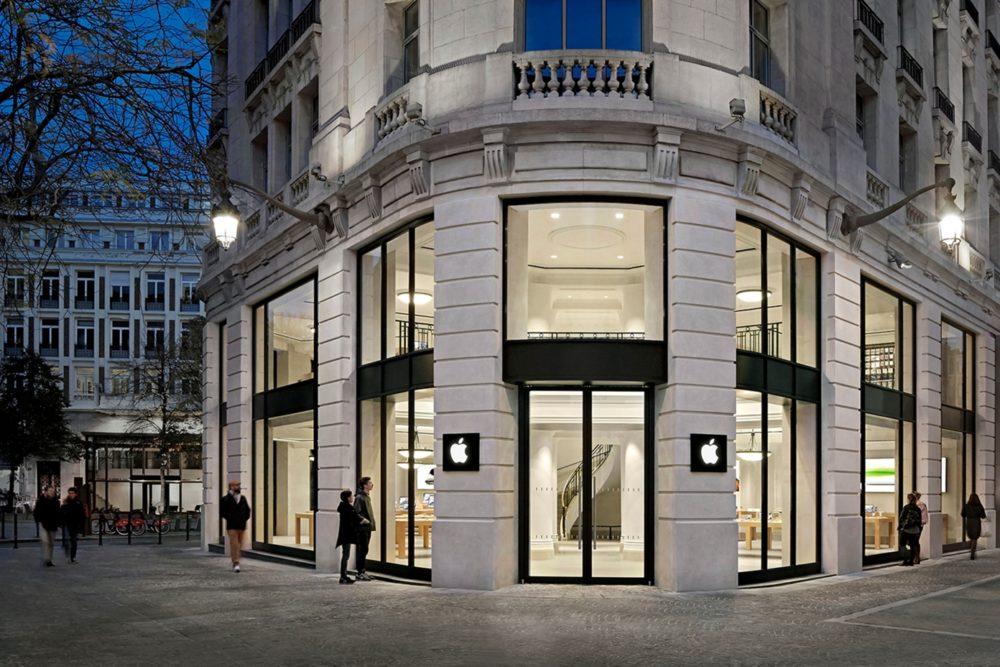 Apple Store Lille France Certains des Apple Store en France ferment leurs portes provisoirement à cause du COVID 19