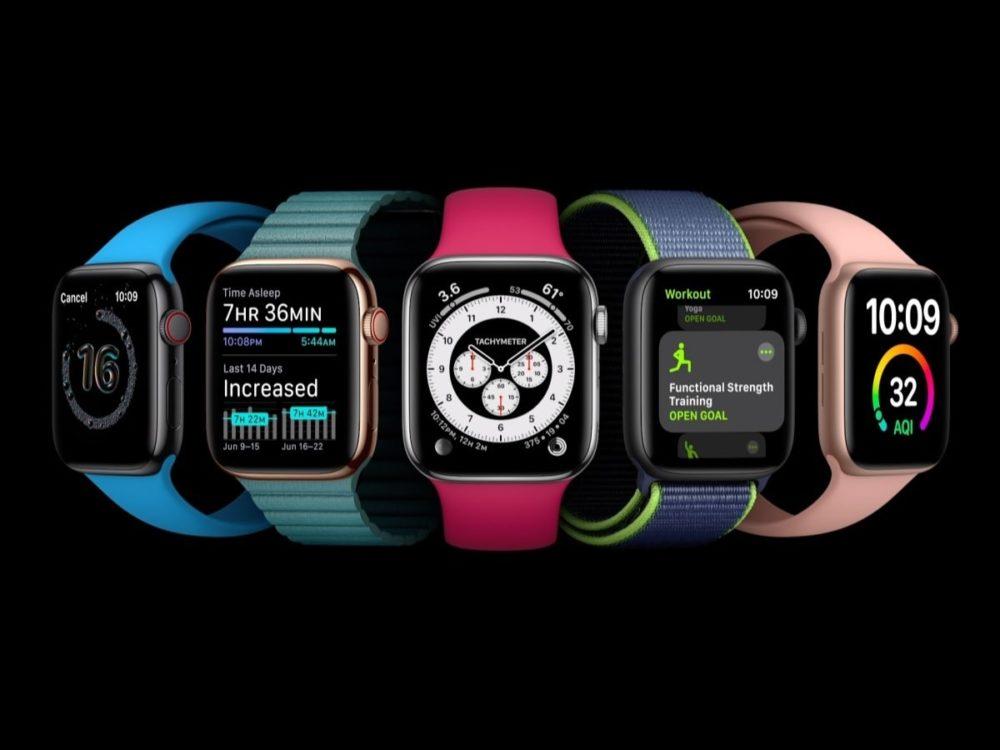 Apple Watch watchOS 7 1 LApple Watch Series 6 : une nouvelle couleur pourrait être proposée par Apple