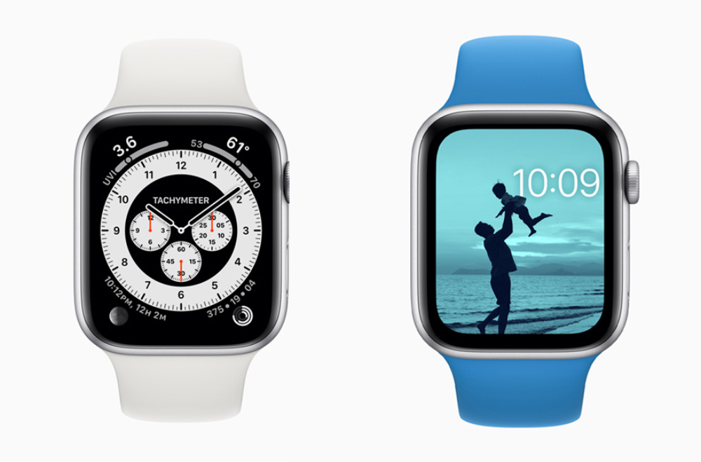 Apple Watch watchOS 7 Cadrans copy watchOS 7.1 : Apple propose la bêta 2 publique au téléchargement