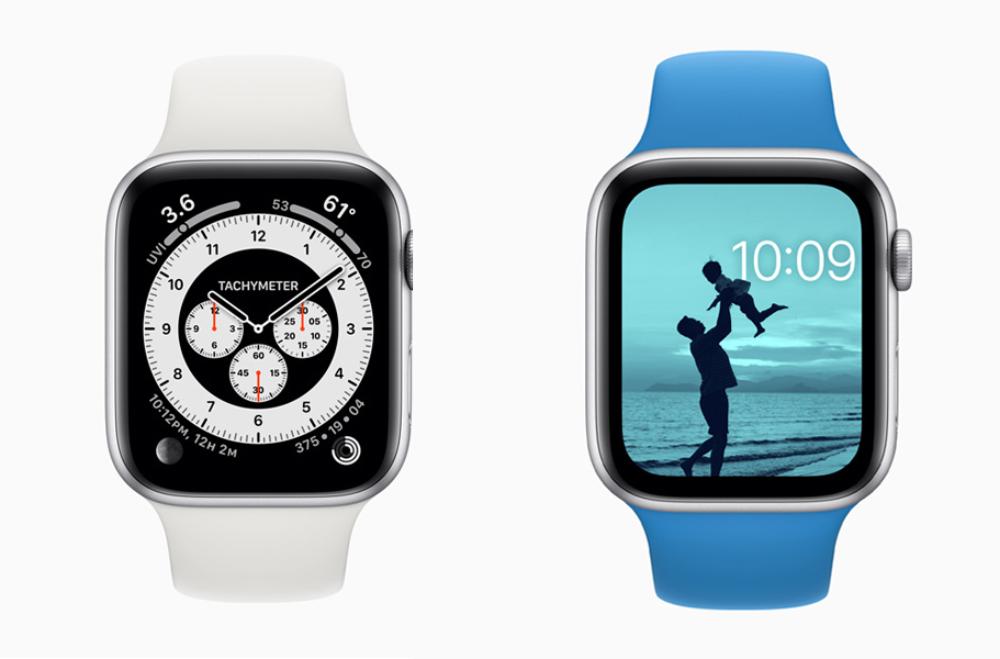 Apple Watch watchOS 7 Cadrans copy watchOS 7 : partage de cadran, suivi du sommeil, nouveaux types d'entraînements, contrôle du lavage des mains...