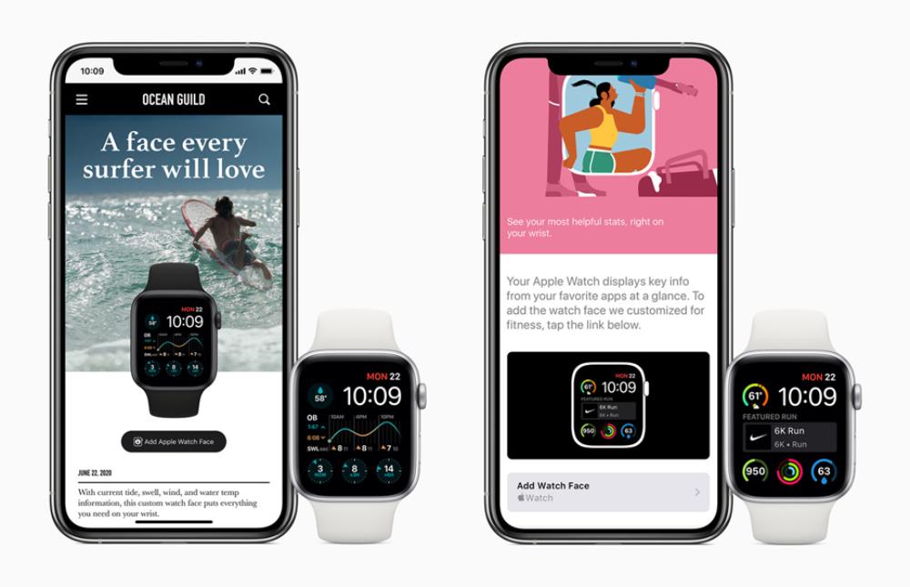 Apple Watch watchOS 7 Partage Cadrans watchOS 7 : partage de cadran, suivi du sommeil, nouveaux types d'entraînements, contrôle du lavage des mains...