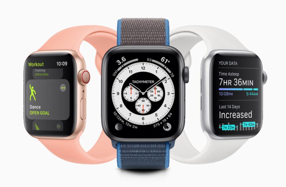 Apple Watch watchOS 7 watchOS 7 : partage de cadran, suivi du sommeil, nouveaux types d'entraînements, contrôle du lavage des mains...