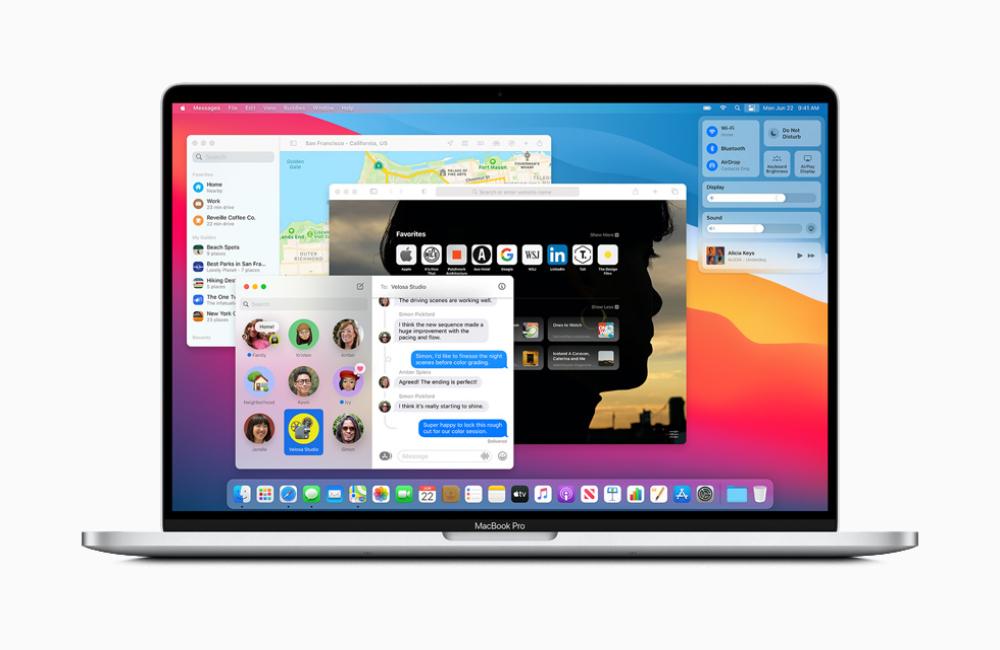 Apple macOS Big Sur MacBook Pro macOS Big Sur 11 : Apple propose au téléchargement la bêta 4 publique