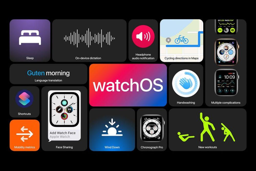 Apple watchOS 7 watchOS 7 est disponible pour les Apple Watch compatibles