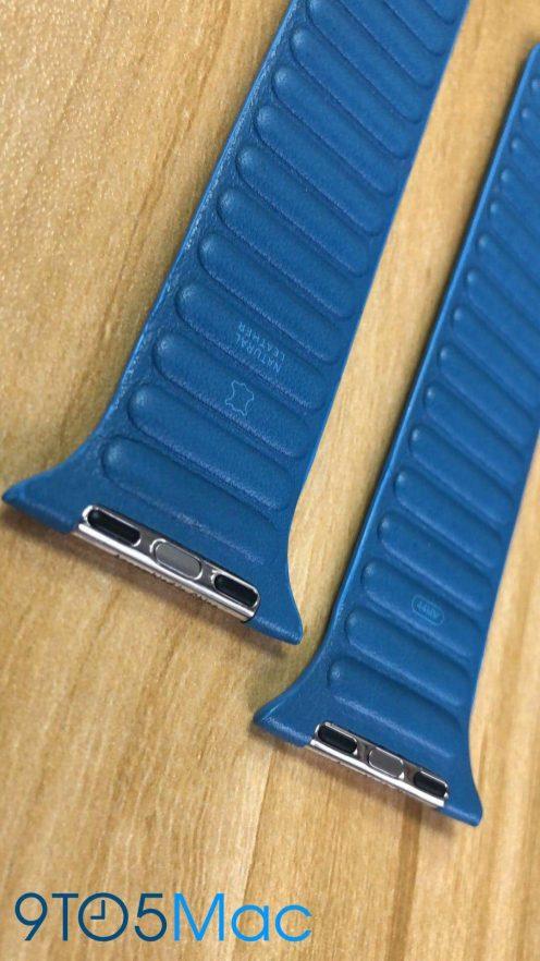 Bracelets Cuir Apple Watch 4 De nouveaux bracelets en cuir pour lApple Watch font leur apparition sur la toile