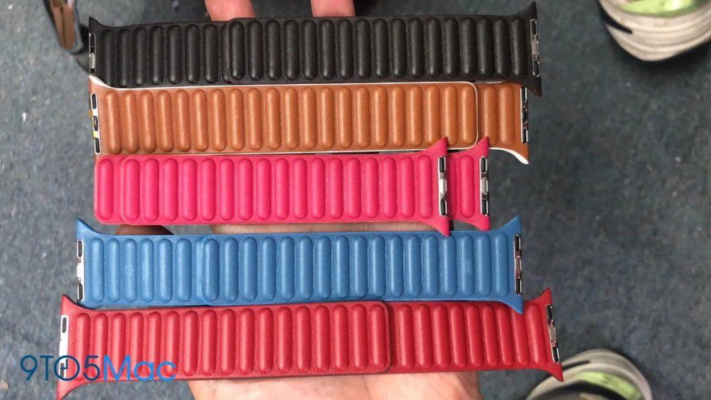 Bracelets Cuir Apple Watch 7 De nouveaux bracelets en cuir pour lApple Watch font leur apparition sur la toile