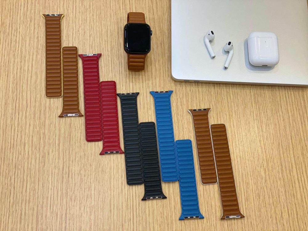 Bracelets Cuir Apple Watch De nouveaux bracelets en cuir pour lApple Watch font leur apparition sur la toile