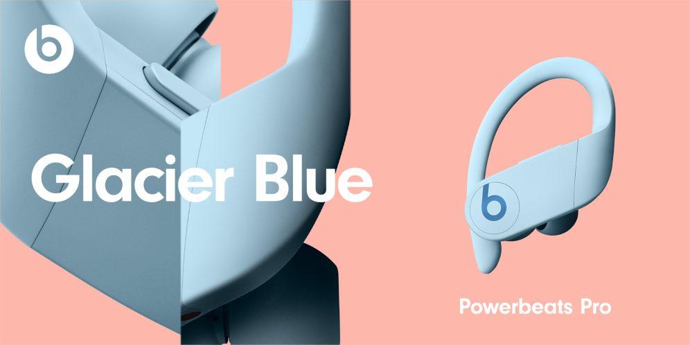 PowerBeats Pro Nouveaux Coloris Glacier Blue Powerbeats Pro : les 4 nouvelles couleurs sont officialisés et seront disponibles le 9 juin