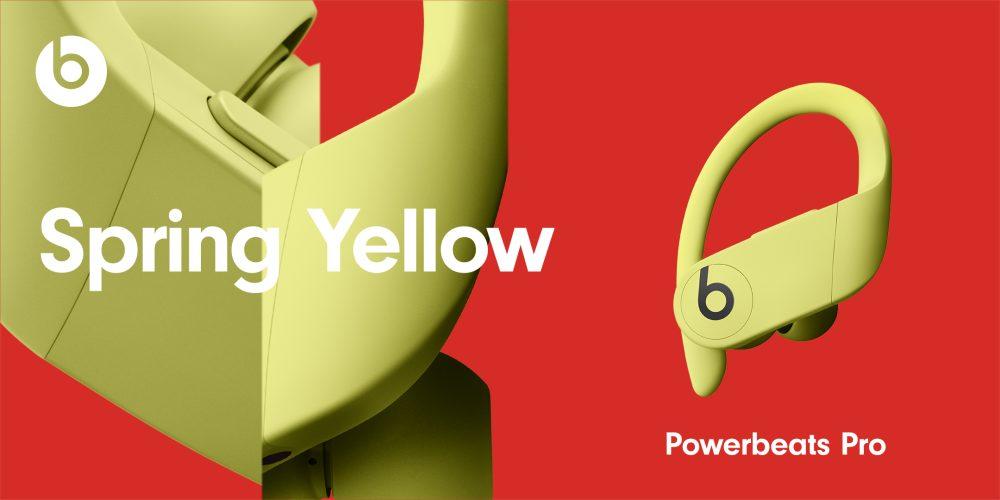 PowerBeats Pro Nouveaux Coloris Spring Yellow Powerbeats Pro : les 4 nouvelles couleurs sont officialisés et seront disponibles le 9 juin