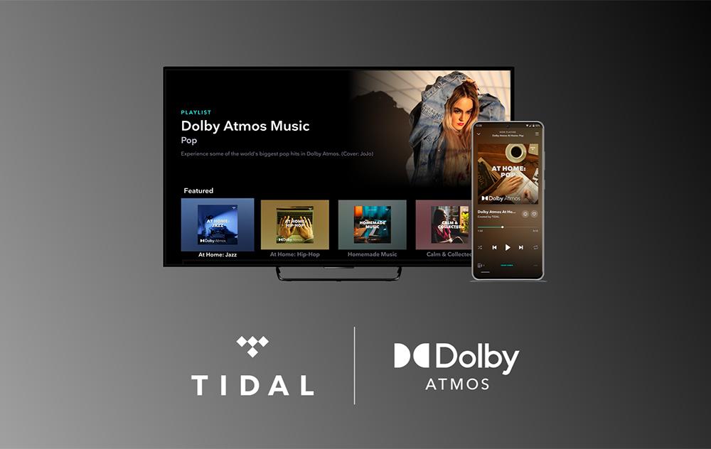 TIDAL Dolby Atmos Apple TV 4K Tidal et Dolby apportent le son Dolby Atmos sur lApple TV 4K pour la musique