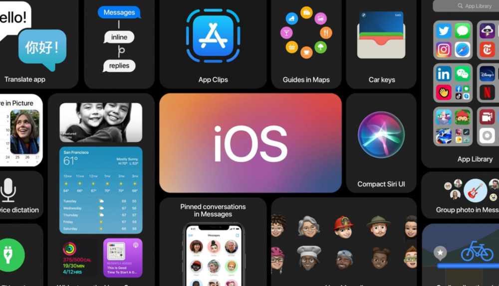 iOS 14 Grandes Nouveautes 1 iOS 14 et iPadOS 14 : la bêta 1 est disponible au téléchargement