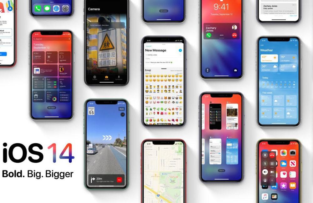 iOS 14 concept iOS 14, une fois de plus, annoncé pour supporter tous les iPhone qui sont compatibles avec iOS 13