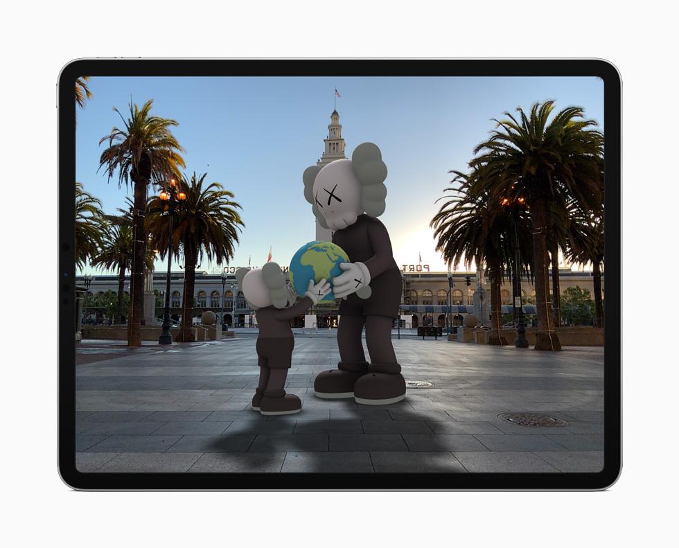 iPadOS 14 AR iPadOS 14 est arrivé : sidecar, Scribble, réalité augmentée plus réaliste, Siri et Apple Pencil optimisés...