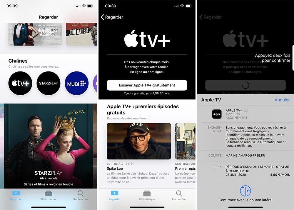 iphone apple tv abonnement Comment prendre ou résilier un abonnement comme Apple Music ou en achats intégrés