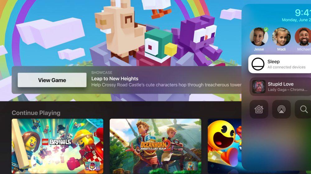 tvOS 14 Apple Arcade Apple annonce tvOS 14 : app Home, partage audio, prise en charge de plusieurs utilisateurs pour Apple Arcade...
