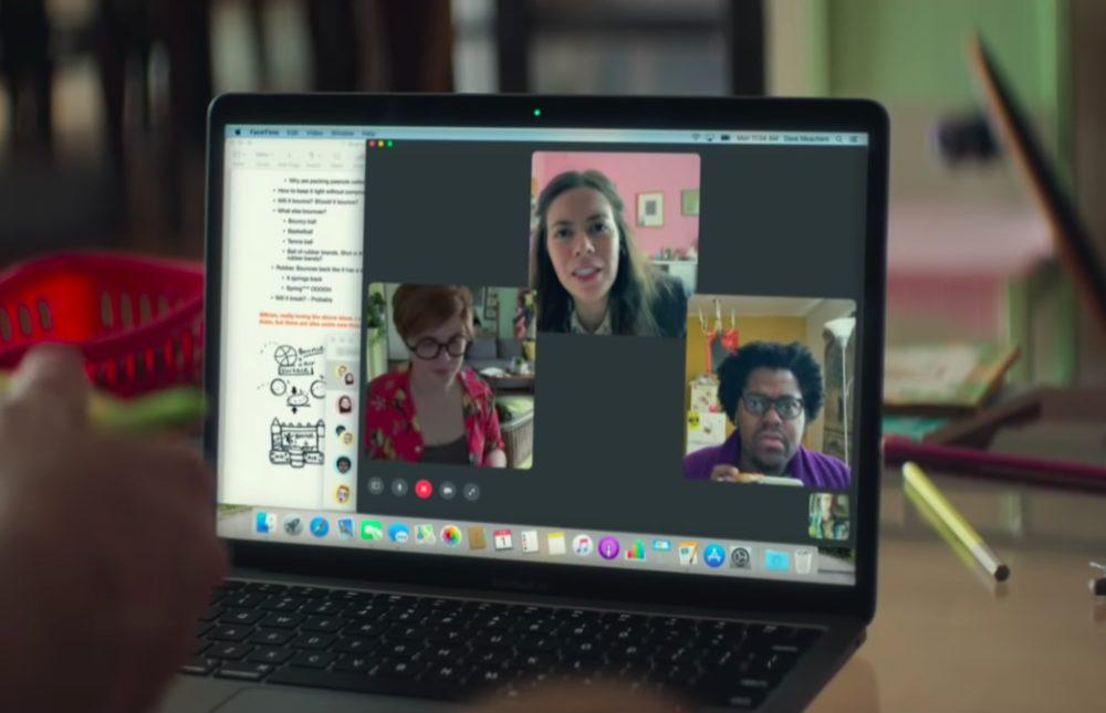 Apple Pub Teletravail Travail à la maison : Apple partage une nouvelle publicité et vante la capacité de ses produits