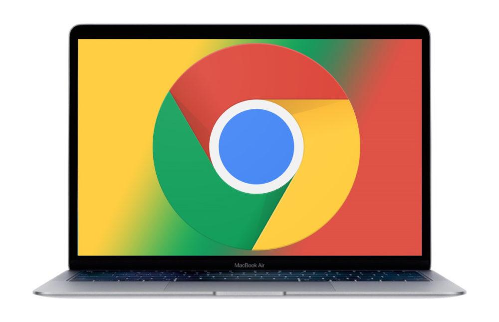 Chrome MacBook AIr Google Chrome : lautonomie sera améliorée sur les MacBook