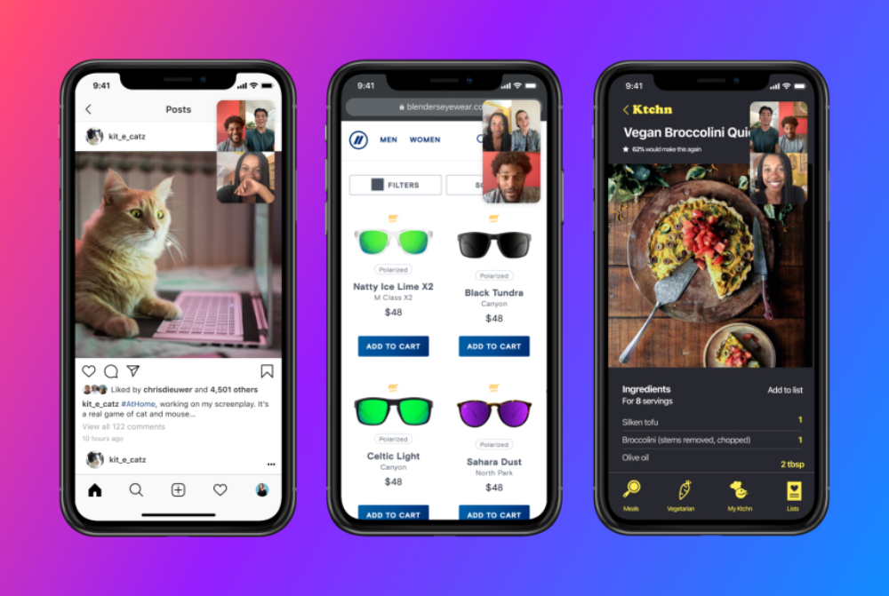 FaceBook Messenger Partage Ecran iOS iPhone Facebook Messenger propose le partage décran sur iOS et Android