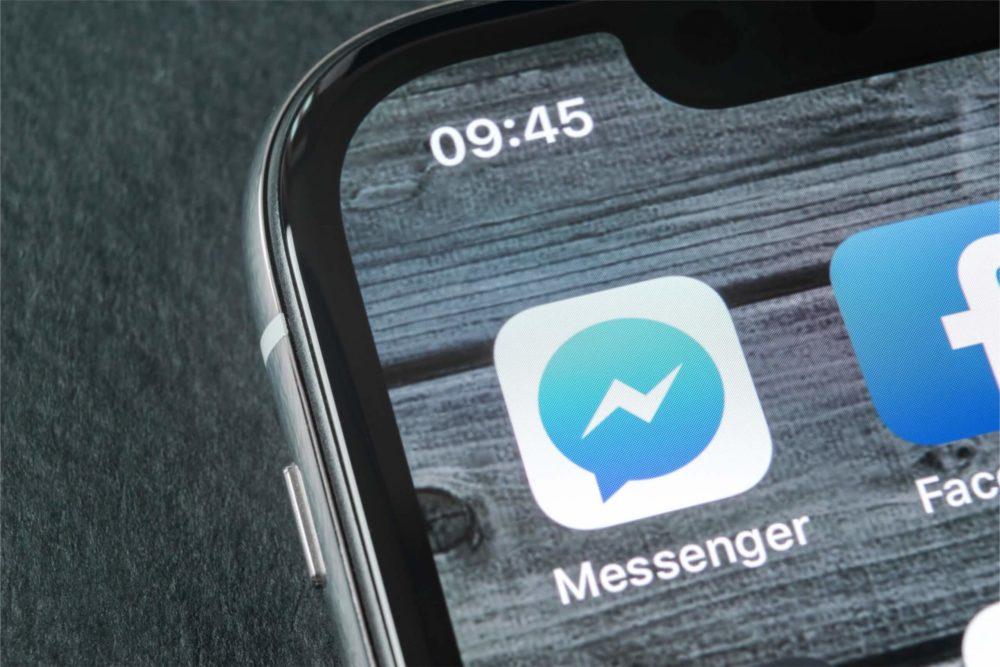 Messenger : Facebook ajoute le (dé)verrouillage par Touch ID et Face ID