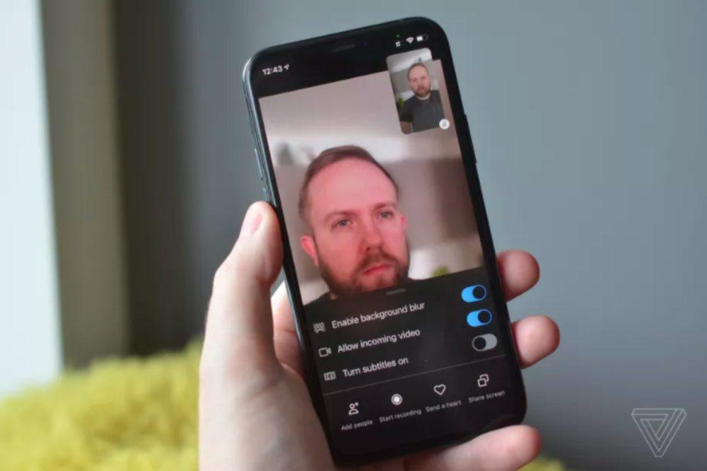 Skype iOS Flou Arrière Plan Skype sur iOS (et iPadOS) dispose enfin du flou darrière plan pendant les appels vidéo
