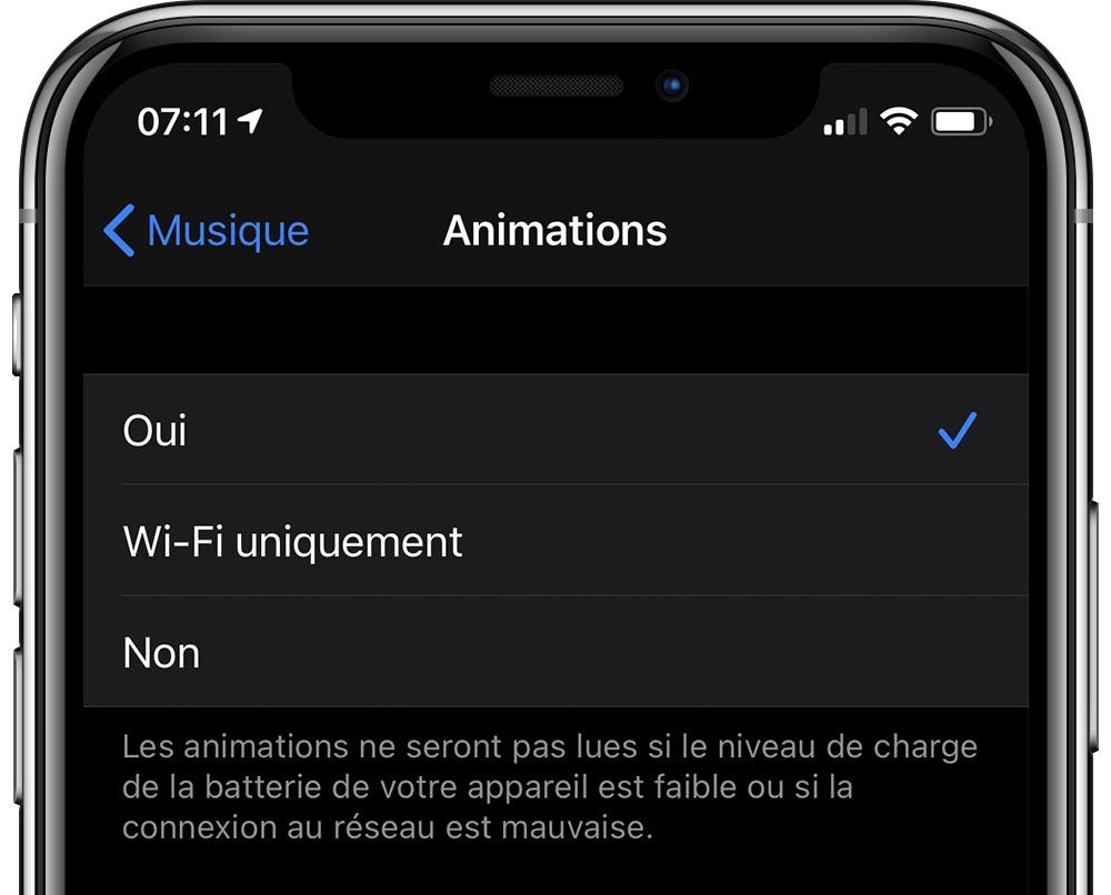 iOS 14 Beta 2 Animations Musique Quoi de neuf dans iOS 14 et iPadOS bêta 2 ? Voici la liste des nouveautés dénichées