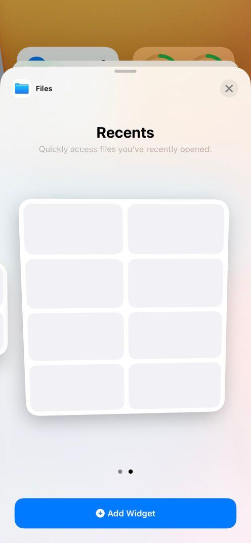 iOS 14 Beta 2 Widgets Fichiers Quoi de neuf dans iOS 14 et iPadOS bêta 2 ? Voici la liste des nouveautés dénichées