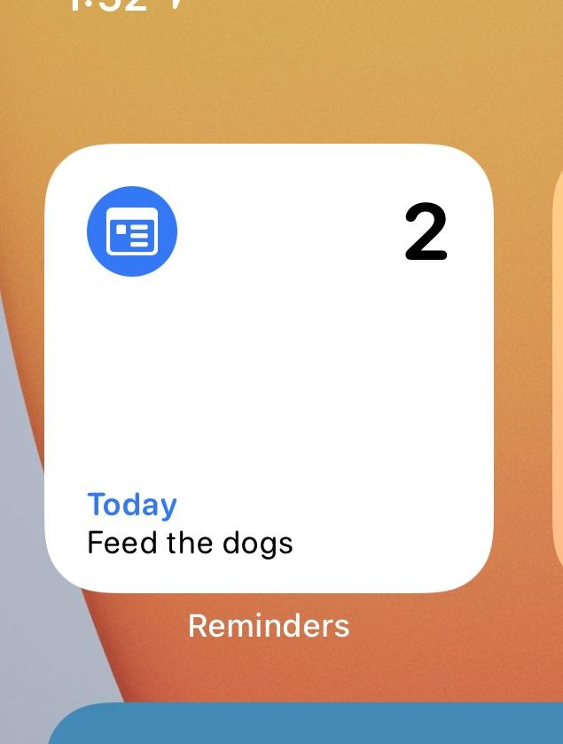 iOS 14 Beta 2 Widgets Rappels Quoi de neuf dans iOS 14 et iPadOS bêta 2 ? Voici la liste des nouveautés dénichées