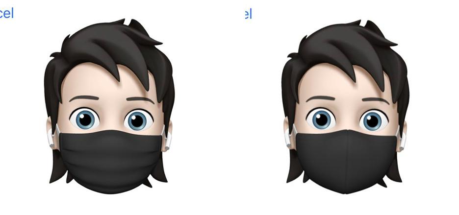 iOS 14 Beta 3 Memoji Masques Quoi de neuf dans iOS 14 bêta 3 ? Nouvelle icône pour lapp Musique, disparition de 3D Touch et plus