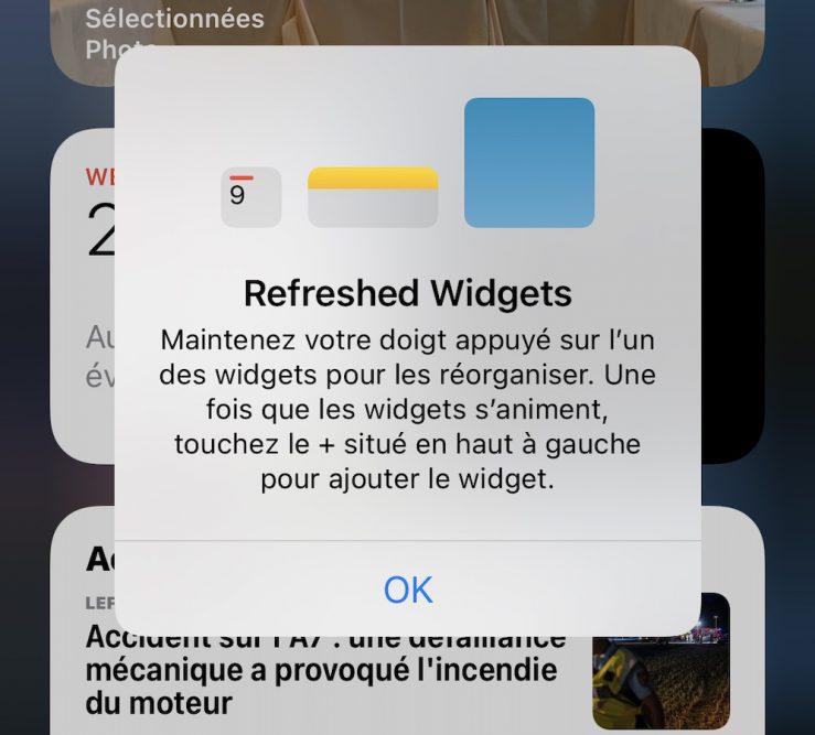 iOS 14 Beta 3 Message Widget Quoi de neuf dans iOS 14 bêta 3 ? Nouvelle icône pour lapp Musique, disparition de 3D Touch et plus