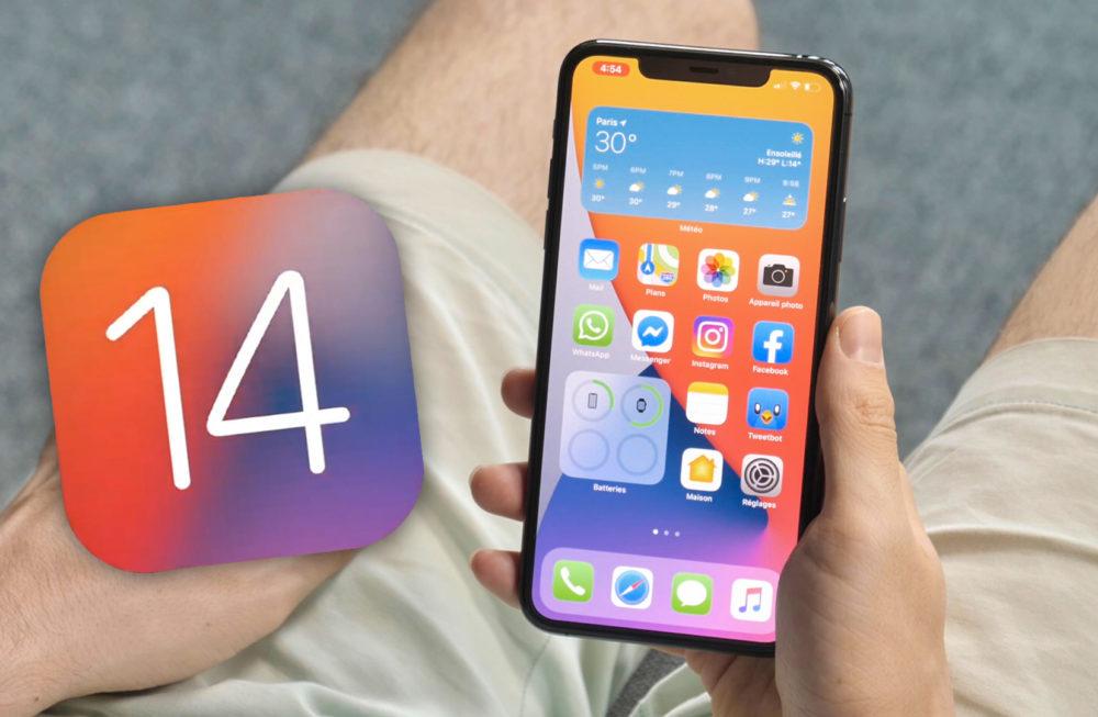iOS 14 iPhone iOS 14 et iPadOS 14 bêta 4 sont disponibles au téléchargement