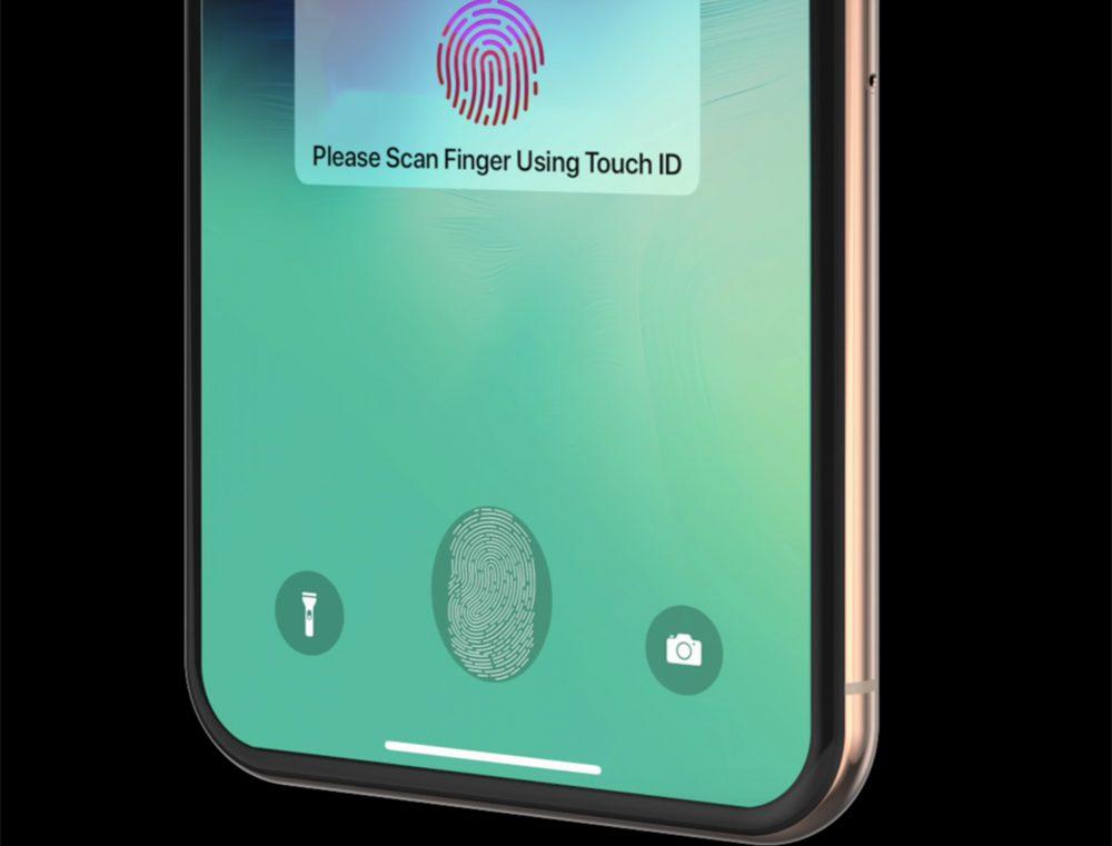 iPhone Touch ID Sous Ecran Brevet : Apple travaille toujours sur un capteur Touch ID sous lécran