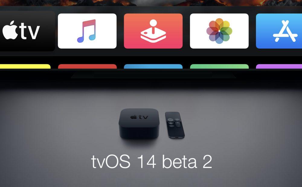 tvOS 14 Beta 2 Bêta 2 disponible au téléchargement pour watchOS 7 et tvOS 14