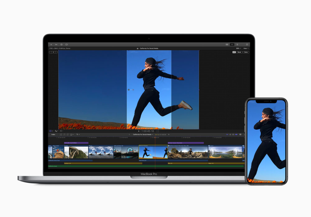 Apple Final Cut Pro X Mise A Jour Apple met à jour GarageBand, Final Cut Pro et Logic Pro pour supporter lApple M1
