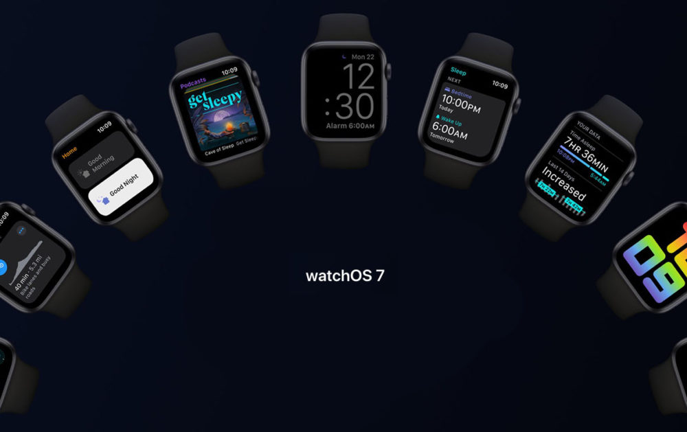 Apple Watch Series 5 watchOS 7 watchOS 7 bêta publique : retourner sur une version stable nest pas possible