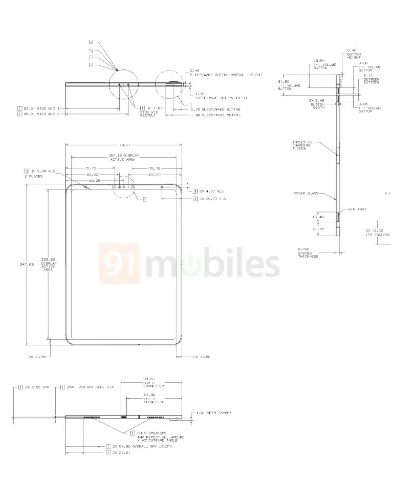 Rumeur Nouvel iPad Schemas 2 Des schémas prétendent montrer le prochain iPad 10,8 pouces avec USB C et Face ID