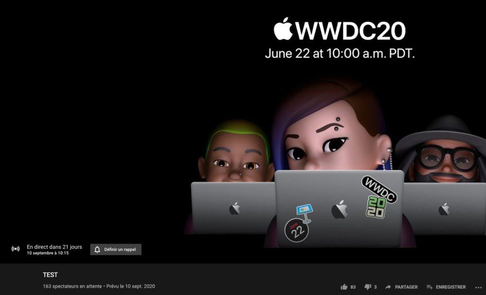 Date de présentation des iPhone 12 ? Apple a planifié et supprimé une vidéo en direct sur YouTube