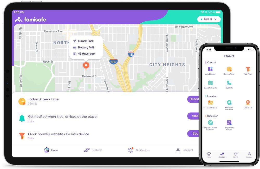 app localisation gps enfant famisafe Quelle est la meilleure app de localisation GPS pour surveiller votre enfant ?